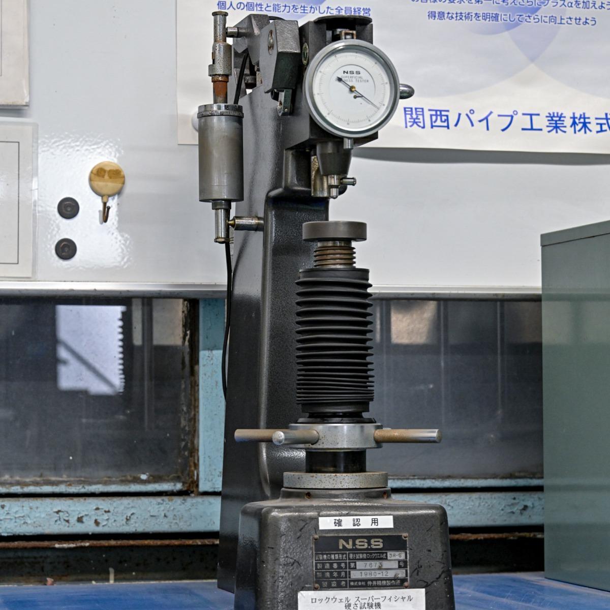 ロックウェルスーパーフィシャル硬さ試験機