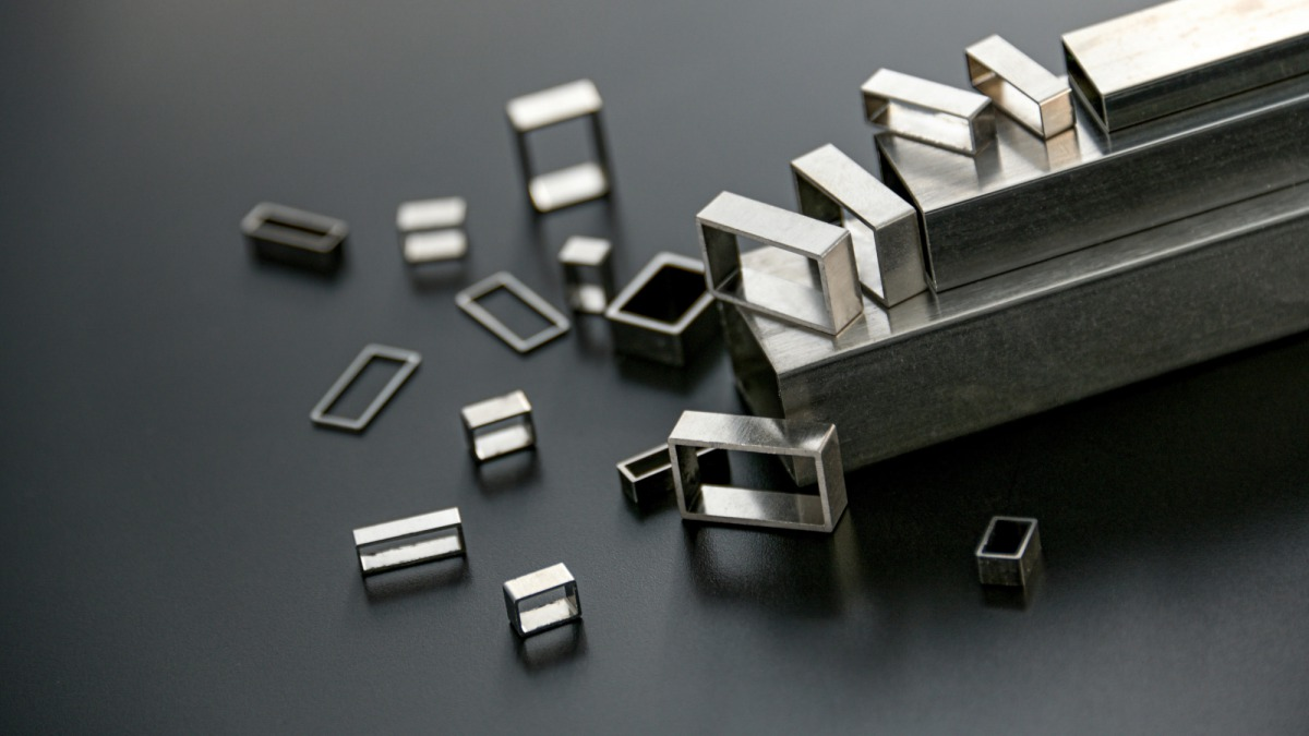 Fabrication of electronic components by ultra-precision cutting such as Aluminum Oxide Dispersion Strengthened Copper (ODS) Irregular-shape Bar and Kovar pipes, etc.