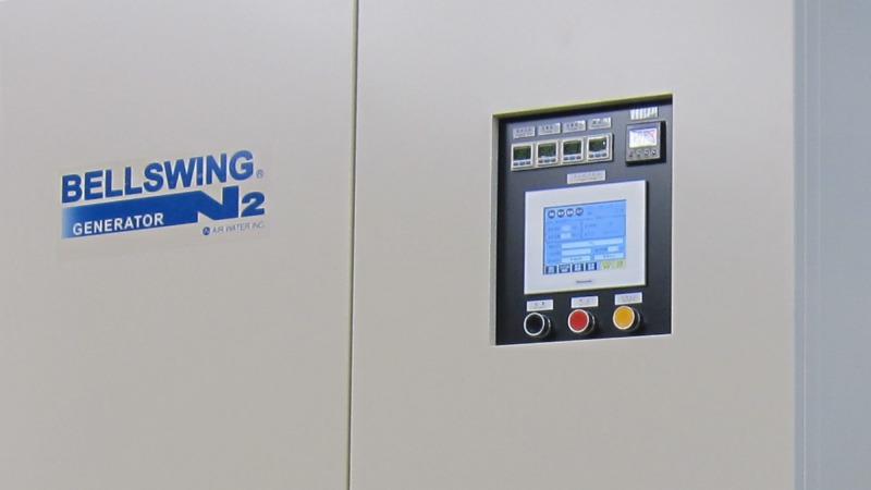 PSA type Nitrogen gas generator systems