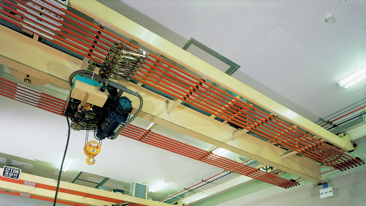 Industrial insulated trolley system